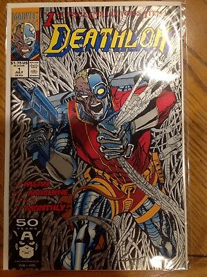 Deathlok #2 (Aug 1991, Marvel)