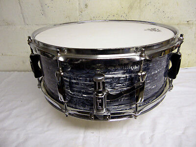 Pearl EXR Heat Compression System Shell Snare 14 x 5,5  Blue Oyster