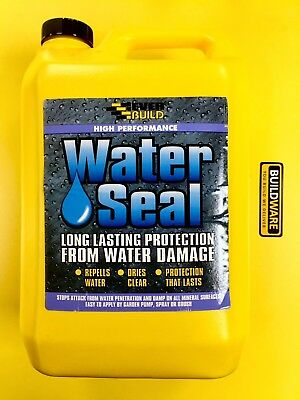 HIGH PERFORMANCE WATER SEAL, PROTECTION FROM WATER DAMAGE 5ltr EVERBUILD