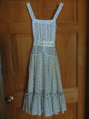 Gunne Sax vintage dress size 7