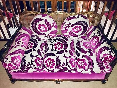 Vintage/antique 1930s Bergere Sofa