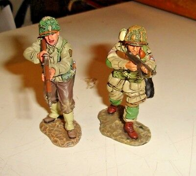 King And Country - D.DAY '44 - 2 figurini U.S.A.  2004, 2011 RETIRED