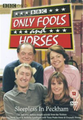 David Jason, Nicholas Lyndh...-Only Fools and Horses: Sleepless in Peckh DVD NEW