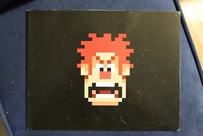 Disney Pixiar - Wreck It Ralph - Photo book from D23 - 2012
