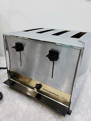 Vintage Toastmaster Hostess, 4 SLICE Toaster In great Condition!!   1950-60s