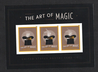 5306a Art of Magic Souvenir Sheet USPS 2018 New