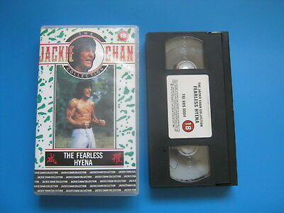 THE FEARLESS HYENA (1979) Jackie Chan KUNG FU ACTION - VHS