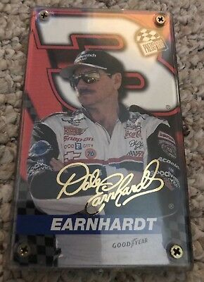 1999 PRESS PASS DALE EARNHARDT 0367/5,000 NASCAR CARD IN CASE! Mint!!!!