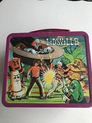 Lidsville Metal Lunch Box Made By Aladdin Dated 1971