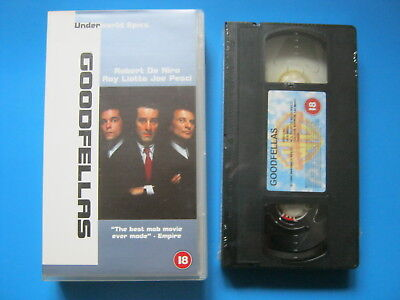 GOODFELLAS (1990) Robert De Niro, Joe Pesci MARTIN SCORSESE MAFIA - NEW VHS
