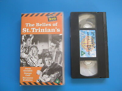 THE BELLES OF ST. TRINIAN'S (1954)Alastair Sim, George Cole CLASSIC COMEDY - VHS