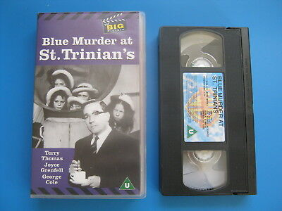 BLUE MURDER AT ST. TRINIAN'S (1957) Terry Thomas, Joyce Grenfell - RARE VHS
