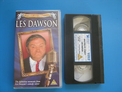 MASTERS OF COMEDY - LES DAWSON - Comedy Highlights - RARE VHS