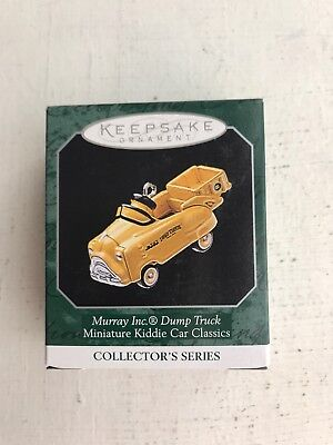 Hallmark Keepsake Ornament  Murray Inc Dump Truck, New In Box