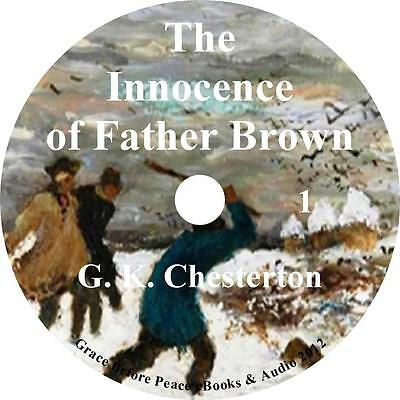 The Innocence of Father Brown, Mystery Audio Book by G K Chesterton on 1 MP3 CD
