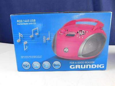 Grundig RCD 1445 Radio USB CD MP3 WMA CD-Player tragbar