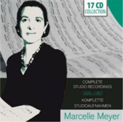 Marcelle Meyer: Complete Studio Recordings 1925-1957 CD / Box Set NEW