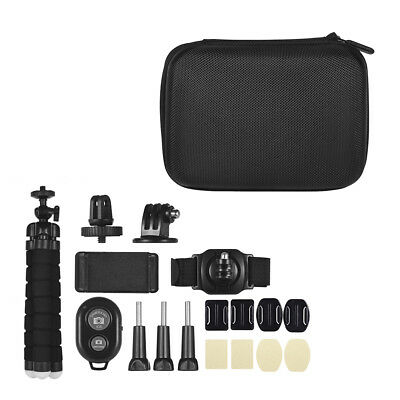 18 in 1 Sport Action Camera Accessories Kit for Go pro Hero 7/6/5 Xiaoyi US O6X0