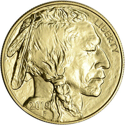 2019 American Gold Buffalo 1 oz $50 - BU