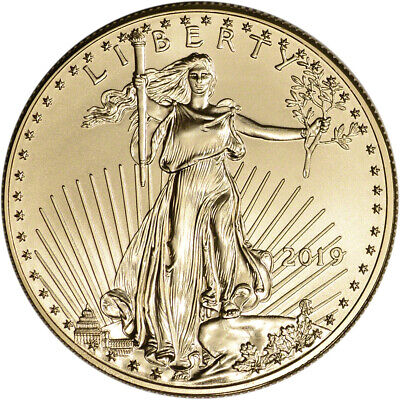 2019 American Gold Eagle 1 oz $50 - BU