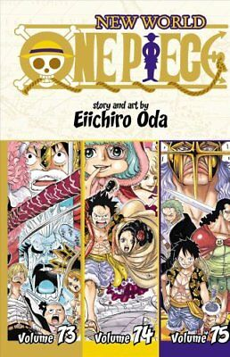 One Piece (Omnibus Edition), Vol. 25 Includes vols. 73, 74 & 75 978142159617