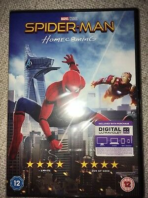 Dvd...spiderman - Homecoming...12