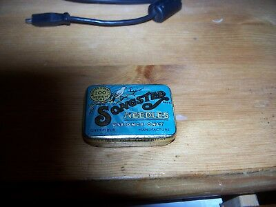 Vintage Songster Gramophone needles in box