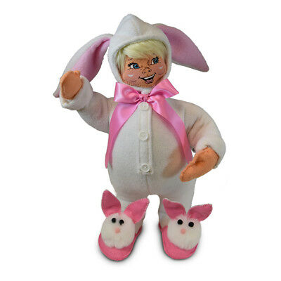 Annalee Dolls 2019 Spring Easter Girl Bunny 6in Plush New with Tags