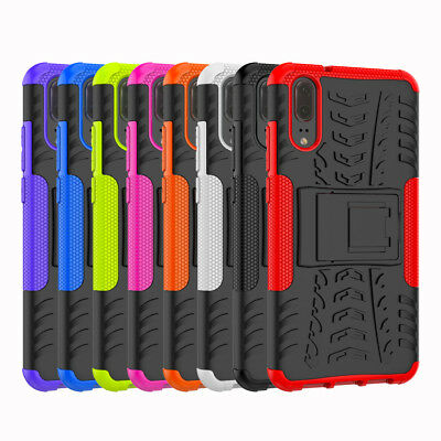 Heavy Duty Gorilla ShockProof Stand Case Cover Military Builder  Sony Xperia L3