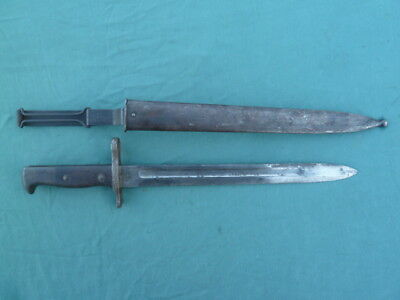 Us M1892 Krag Bayonet Dated 1899 Model1892 With Scabbard