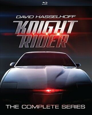 KNIGHT RIDER THE COMPLETE SERIES New Sealed Blu-ray Seasons 1 2 3 4