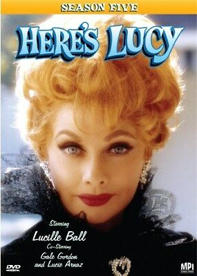 HERE'S LUCY SEASON 5 New Sealed 4 DVD Set Lucille Ball