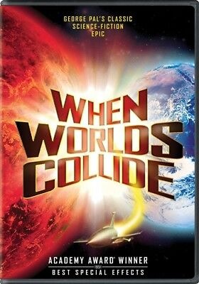 WHEN WORLDS COLLIDE New Sealed DVD