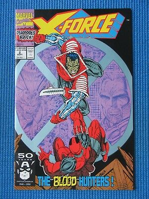 X-Force # 2 - (Nm-) - 1St App Of Weapon X, 2Nd App Of Deadpool
