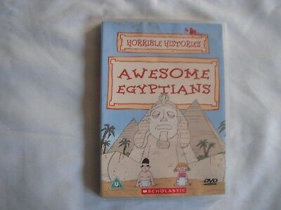 Horrible Histories - Awesome Egyptians (DVD)  NEW & SEALED