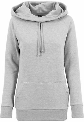Urban Classics Damen Ladies High Neck Raglan Hoody TB1526