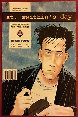 St. Swithin's Day GRANT MORRISON - PAUL GRIST Trident Comics April 90 One-Shot
