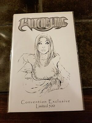 Top Cow Image Witchblade Vol 1 #44 Jay Company WW Exclusive EBas Sketch Variant
