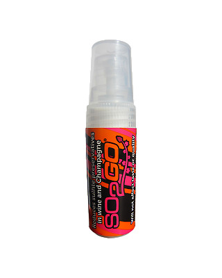 SO2GO Reduce Preservatives Spray Bottle 5mL Accessories