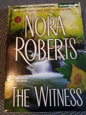 Nora Roberts The Witness Audio Book Unabridged 14 Disc 2012 Read By Julia Whelan
