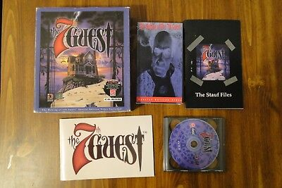 The 7th Guest PC Game with manuals, CD's, VHS, & insert.
