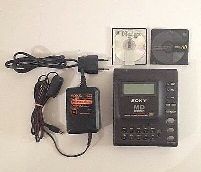 Sony MZ-1 first portable minidisc Recorder (1992-94) AC Adapter