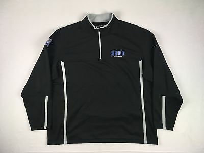 Nike Duke Blue Devils - Black Poly Pullover (3XL) - Used