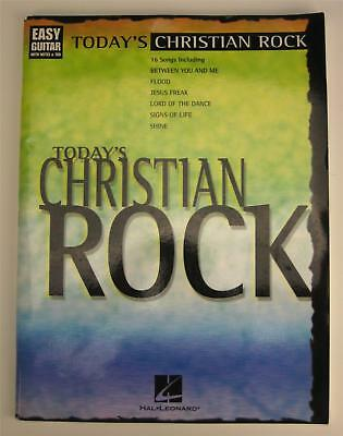 Today's Christian Rock Easy Guitar notes tab VARIOUS