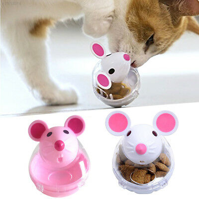 07F7 Funny GBD Pet Leakage Food Food Dispenser Cat Tumbler Toy Dog Food Ball
