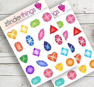 Month of the Year Stickers Scrapbook and Colorful Fun Months Planners Precut