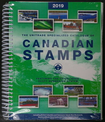 Unitrade Specialized Catalogue of Canadian Stamps 2019 -New & Sealed!-Auction#18