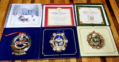 White House Christmas Ornaments 2003~2004~2005 in box
