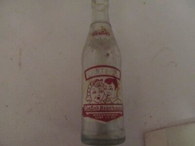 Carters Beverages Soda Pop Bottle, Middletown, Ohio, 1940s?