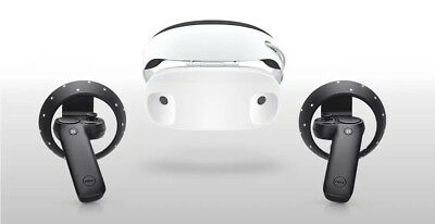 Dell - Visor Virtual Reality Headset and Controllers VRP100